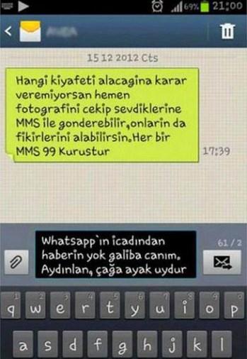 Komik WhatsApp mesajları 15