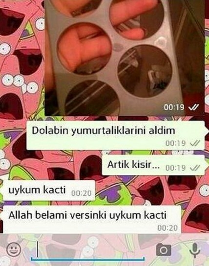 Komik WhatsApp mesajları 16
