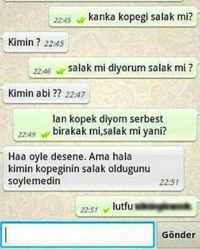 Komik WhatsApp mesajları 17