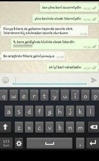 Komik WhatsApp mesajları 19