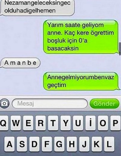 Komik WhatsApp mesajları 21