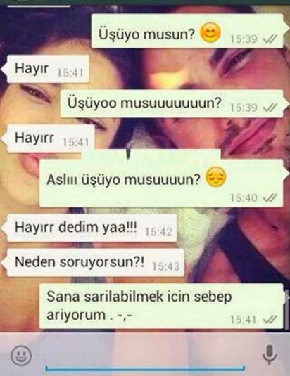 Komik WhatsApp mesajları 24