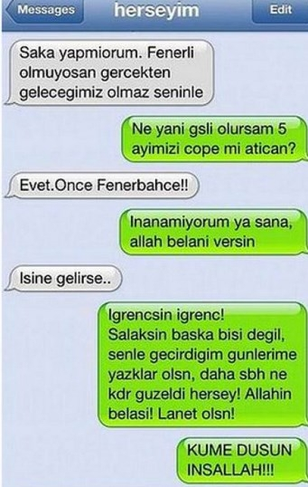 Komik WhatsApp mesajları 25