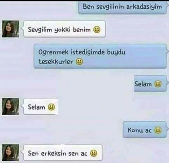 Komik WhatsApp mesajları 4