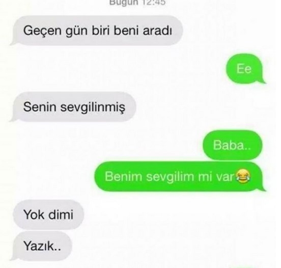 Komik WhatsApp mesajları 6