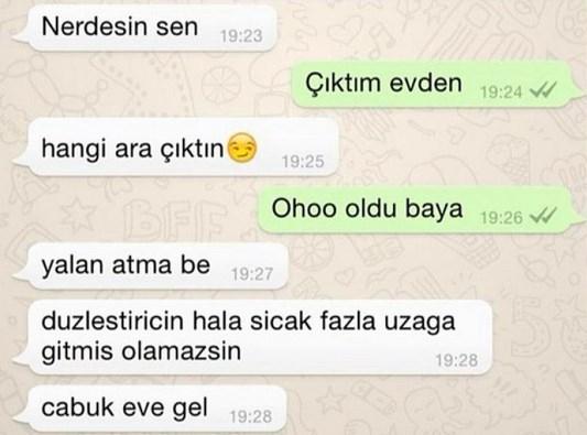 Komik WhatsApp mesajları 7