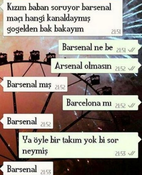 Komik WhatsApp mesajları 8