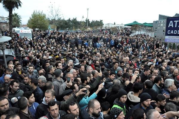 Binlerce Gebzeli, şehit Uzman Çavuş Polat Ali Özbek'i son yolculuğuna uğ 13