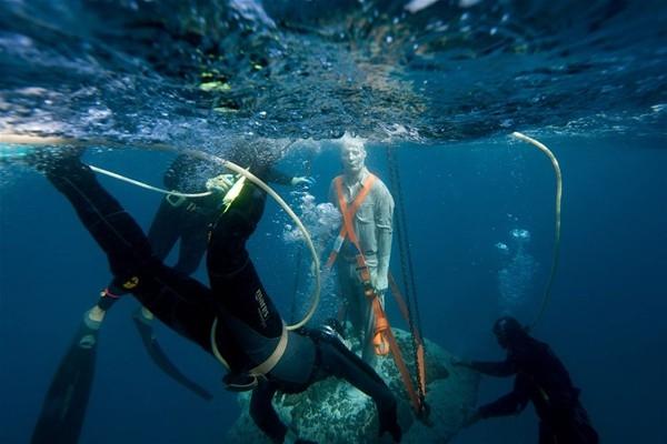 Su altında inanılmaz manzara 1