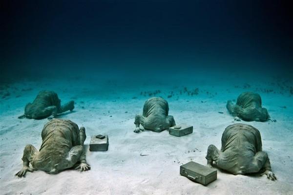 Su altında inanılmaz manzara 2