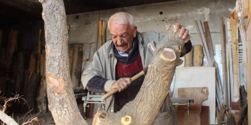 Yüzyıllık kütüklerin mantar mobilyaya yolculuğu