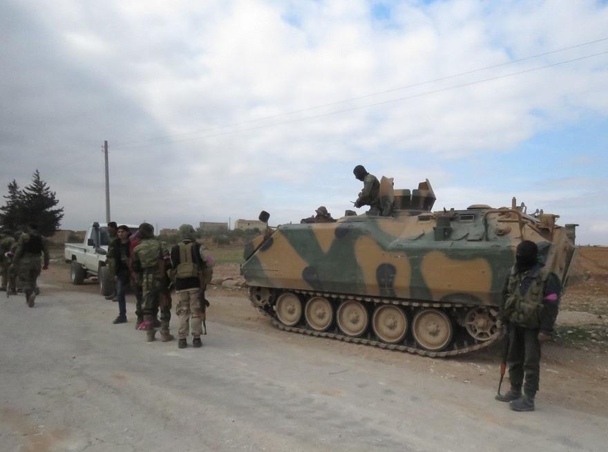 Özgür Suriye Ordusu'nun El Bab'ta ilerleyişi sürüyor 1