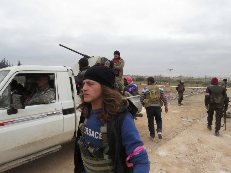 Özgür Suriye Ordusu'nun El Bab'ta ilerleyişi sürüyor 12