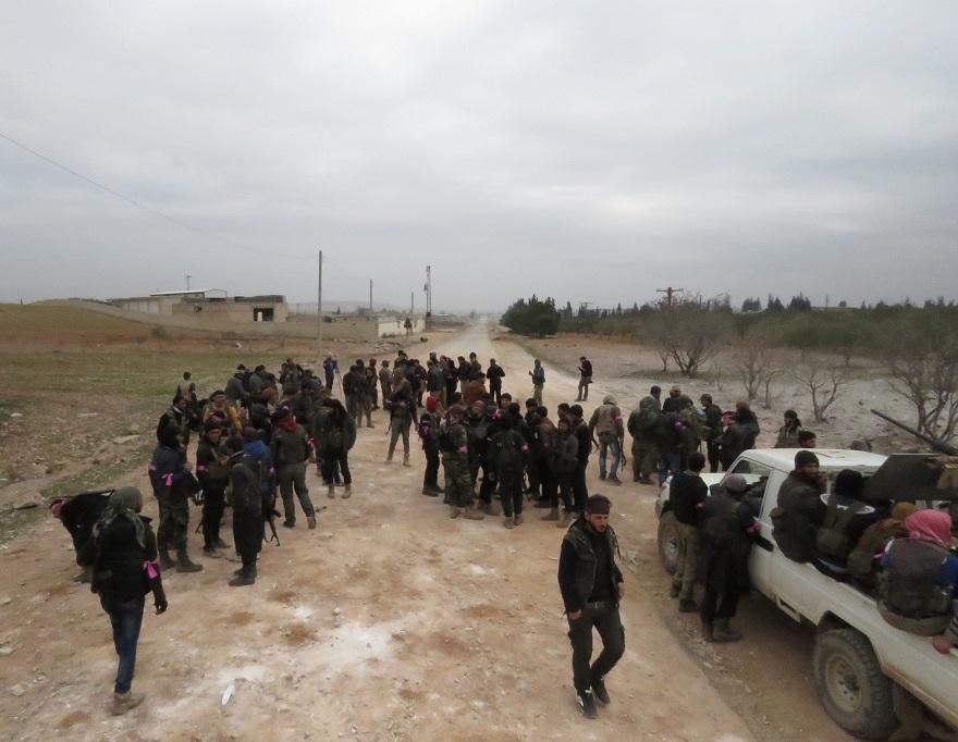 Özgür Suriye Ordusu'nun El Bab'ta ilerleyişi sürüyor 2