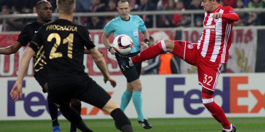 UEFA Avrupa Ligi Osmanlıspor -- Olympiakos