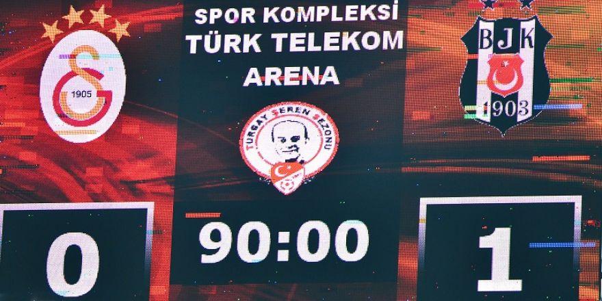 Beşiktaş yine 1-0 kazandı