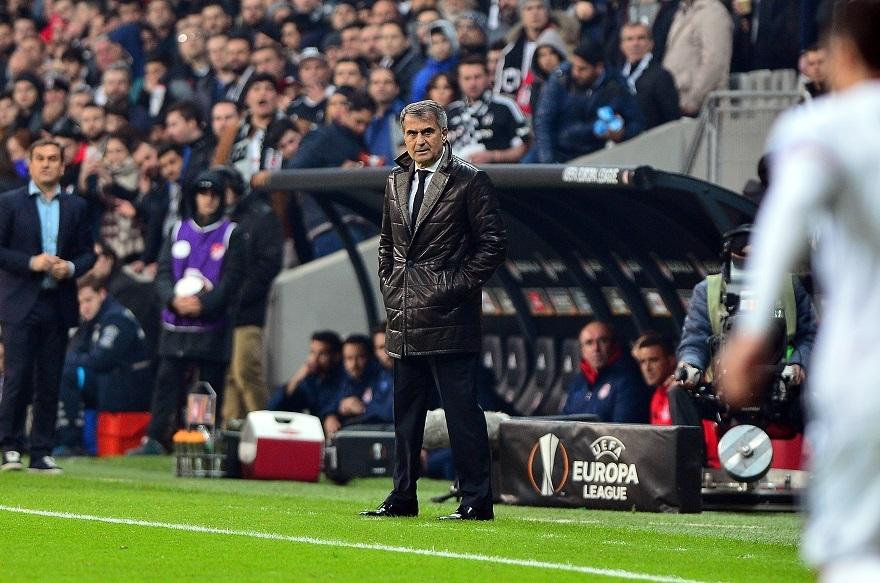 Beşiktaş,Olympiakos Maçından Kareler 1