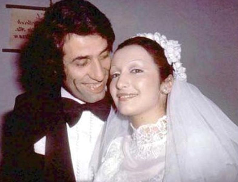 Ünlü isimlerin düğün fotoğrafları 1
