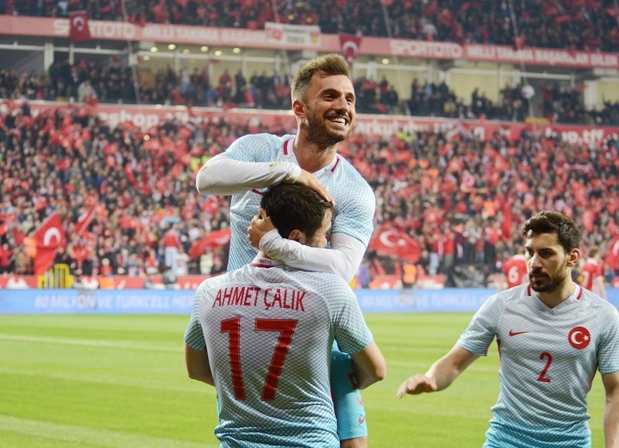 Türkiye Moldova Maçından Kareler 2