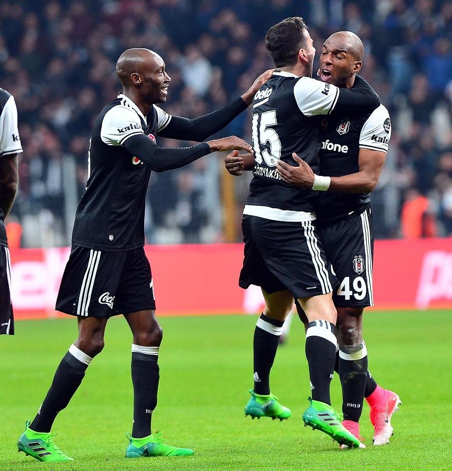 Beşiktaş,Gençlerbirliği Maçtan Kareler 33