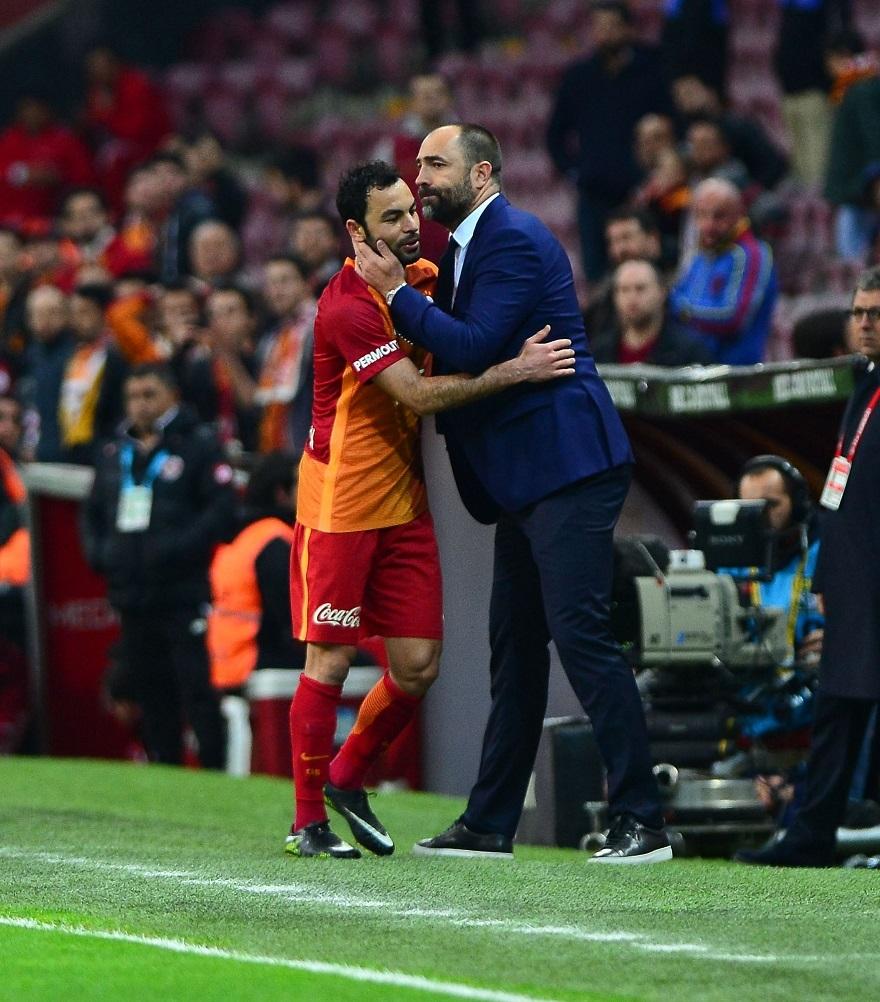 Galatasaray-Adanaspor Maçtan Kareler 2