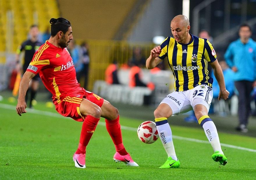 Ziraat Türkiye Kupası Fenerbahçe, Kayserispor 1