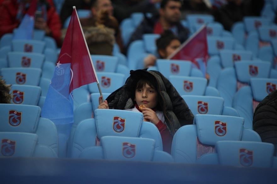 Beşiktaş-Trabzonspor Maçından Kareler 2