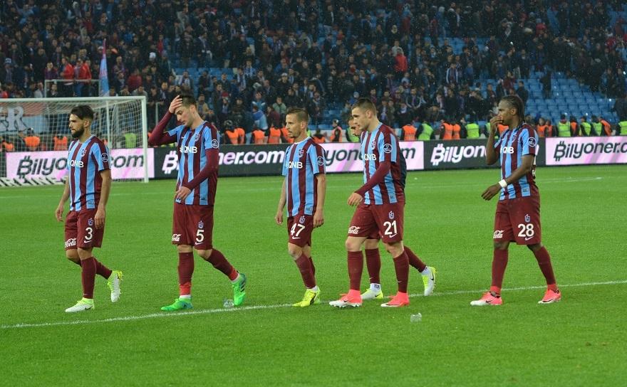 Beşiktaş-Trabzonspor Maçından Kareler 40