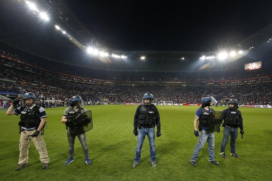 Beşiktaş-Lyon Maçtan Kareler 1