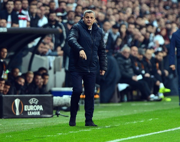 Beşiktaş-Lyon Rövanş Maçından Kareler 1