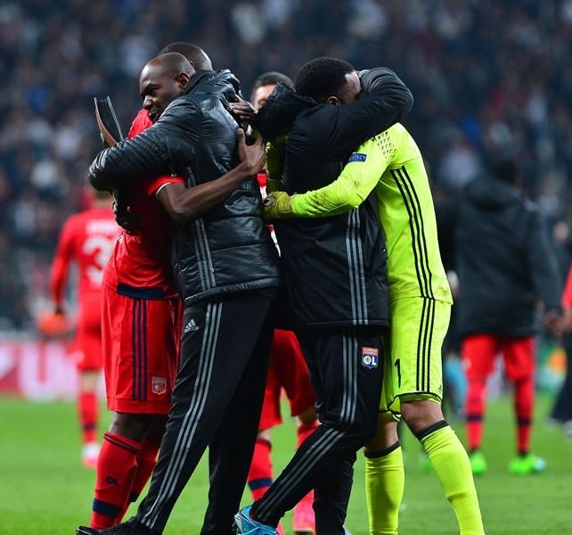 Beşiktaş-Lyon Rövanş Maçından Kareler 54