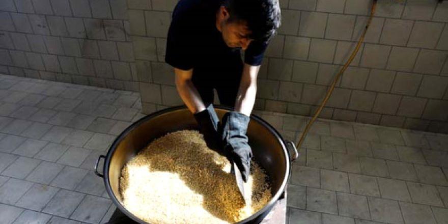 Çorum'daki altın üretim tesisinin fotoğrafları !