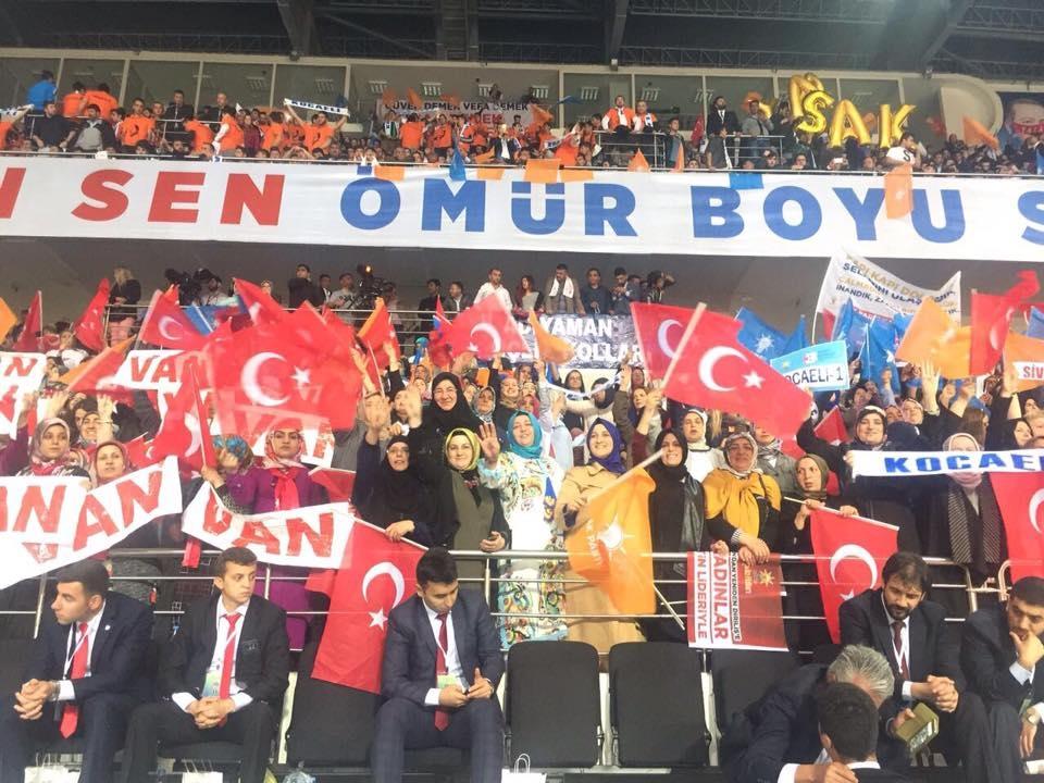 AK Parti 3. Olağanüstü Genel Kurulu'ndan kareler 2