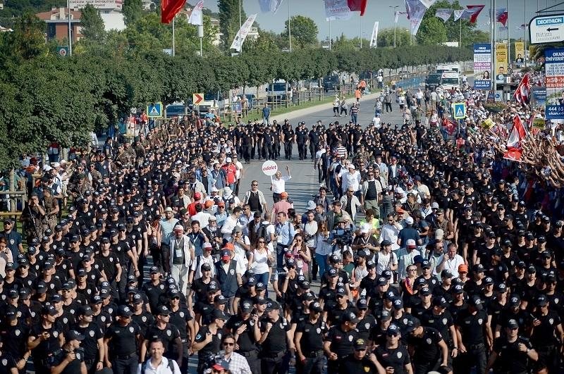 'Adalet' Yürüyüşü ve  Maltepe mitingi 2