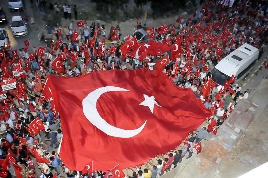Darıca'da on binler nöbette buluştu 21