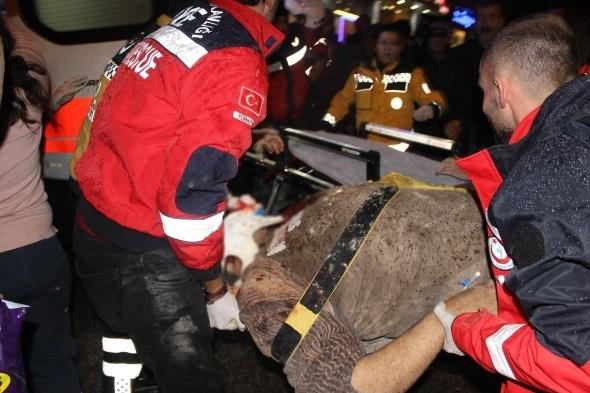 Kilis merkezine roket düştü! Çok sayıda yaralı var 1