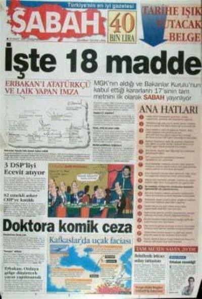 28 Şubat'ın utanç manşetleri 1