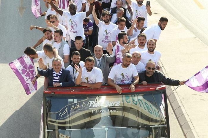 Gebze'de şampiyonluk coşkusu 1