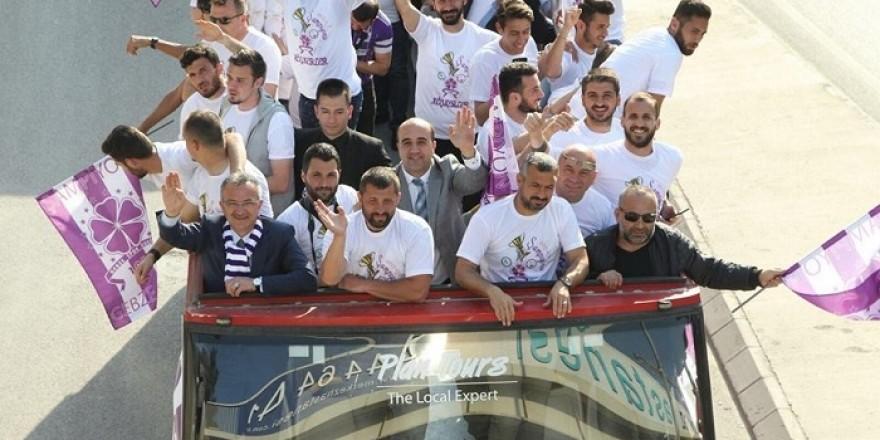 Gebze'de şampiyonluk coşkusu