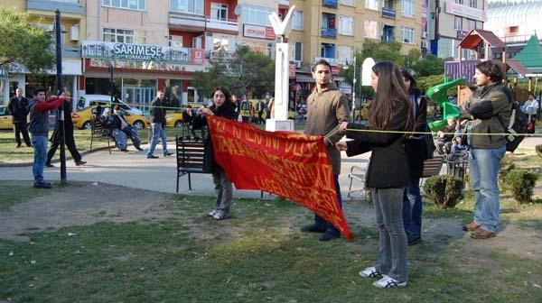 Füze Kalkanı Protestosu 1