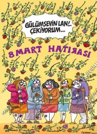 8 Mart Dünya Kadınlar Günü Karikatürleri 1