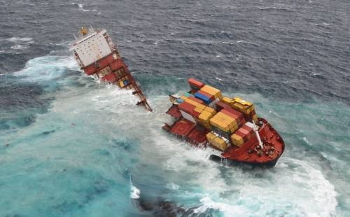 Dev gemi kağıt gibi yırtıldı 1