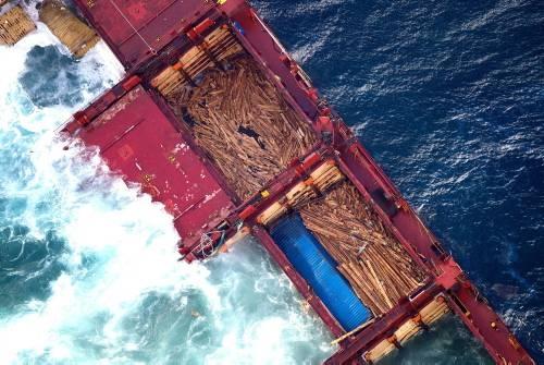 Dev gemi kağıt gibi yırtıldı galerisi resim 8
