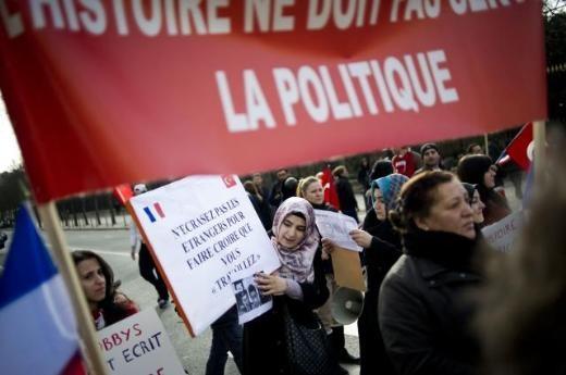 Fransa'da Ermeni Sokırımı protestosu galerisi resim 10