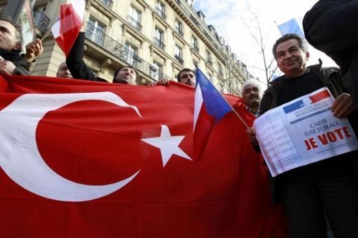 Fransa'da Ermeni Sokırımı protestosu 6