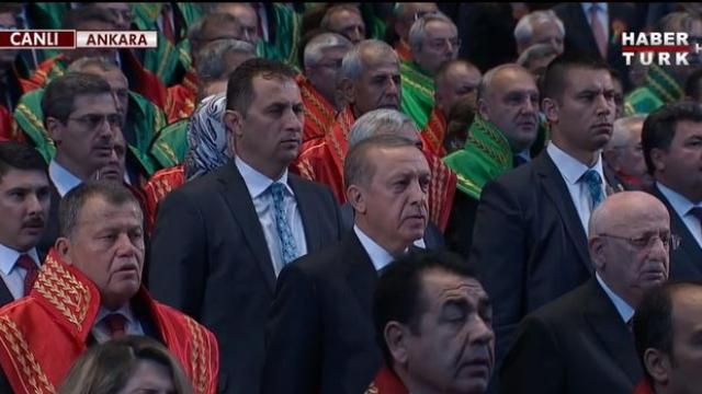 Beştepe'de Düzenlenen Adli Yıl Açılış Töreni Başladı