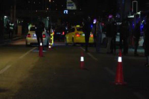 Başkent Gece Yarısı Karıştı ! Polise Silahlı Saldırı