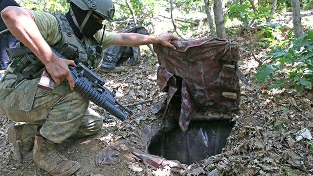 PKK'nın mağaraları yerle bir oldu !