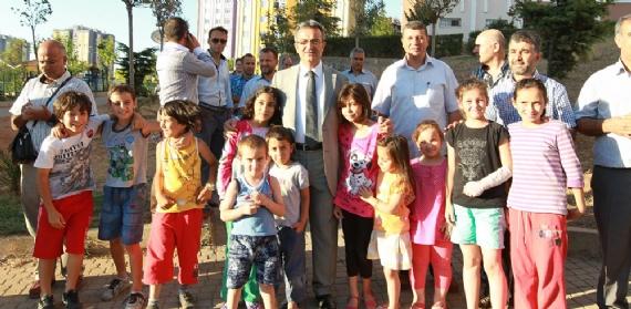 İftar sofraları Yenikent'te kuruldu