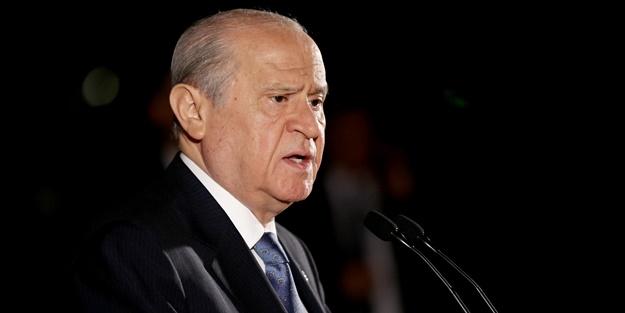 MHP Genel Başkanı Bahçeli Başkanlığa yeşil ışık yaktı